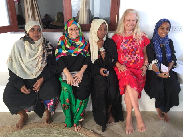 Meeting the local women is a treat…