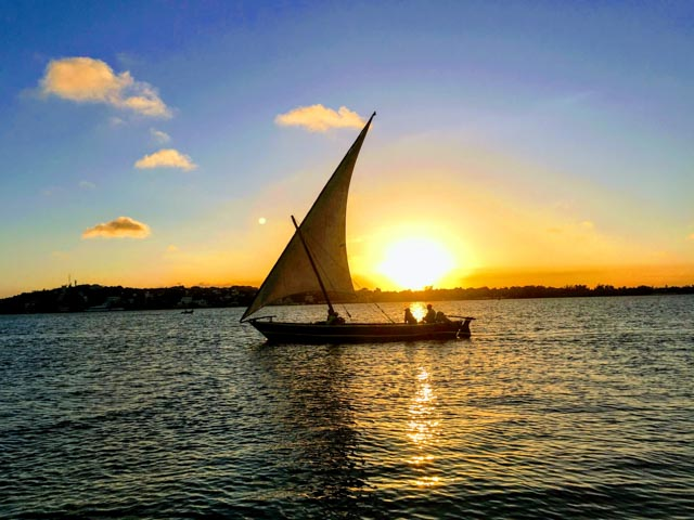 …as you sail into the sunset!