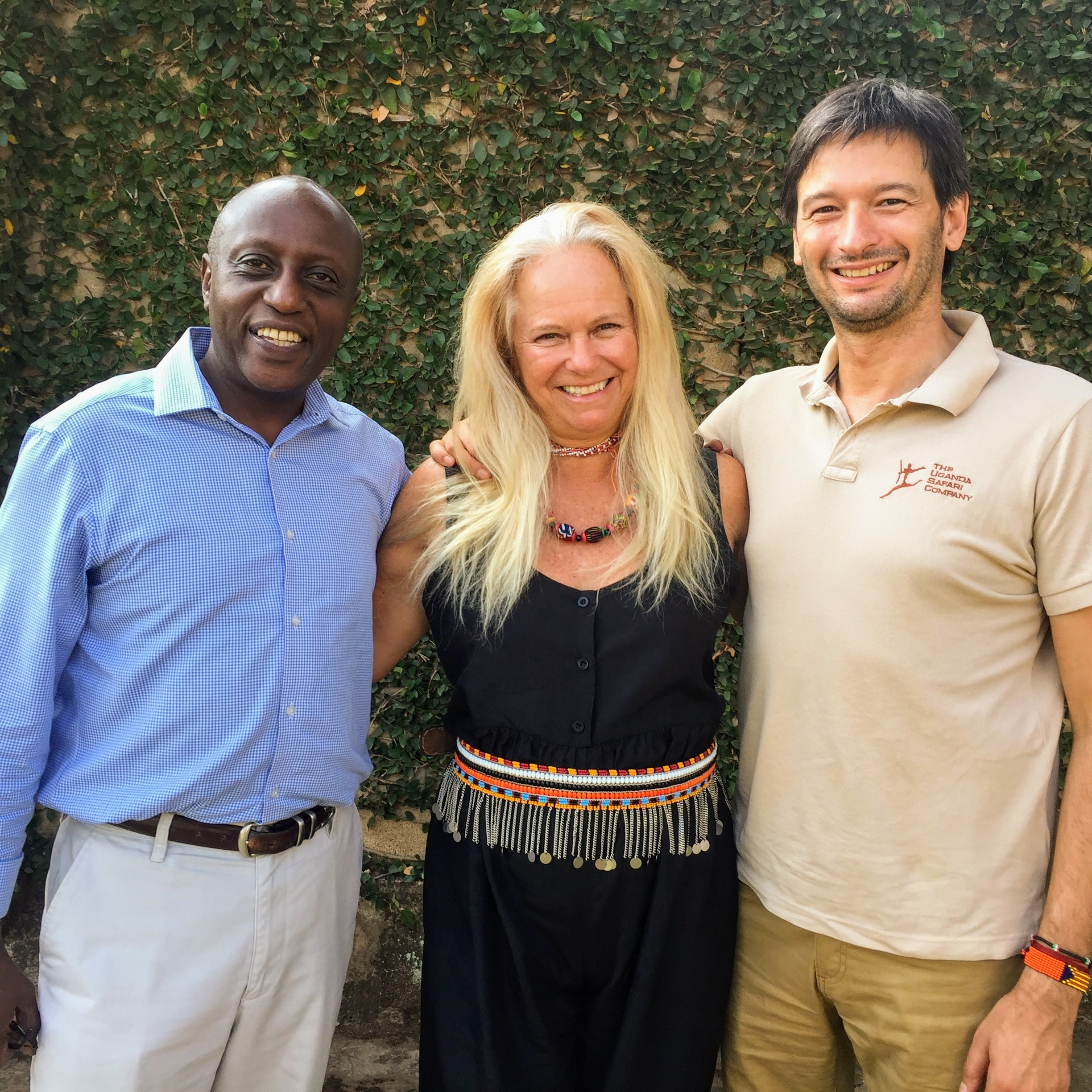 Colin Muhoozi of Africa Great Explorations Safaris and Oscar Plans of The Uganda Safari Company hosted Bibi Jordan on a Ugandan safari.