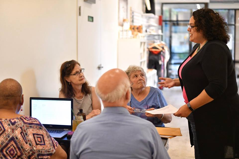 Connection - I am committed to listening to residents and being a voice for all