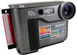 Sony Mavica 0.3 Megapixel Camera