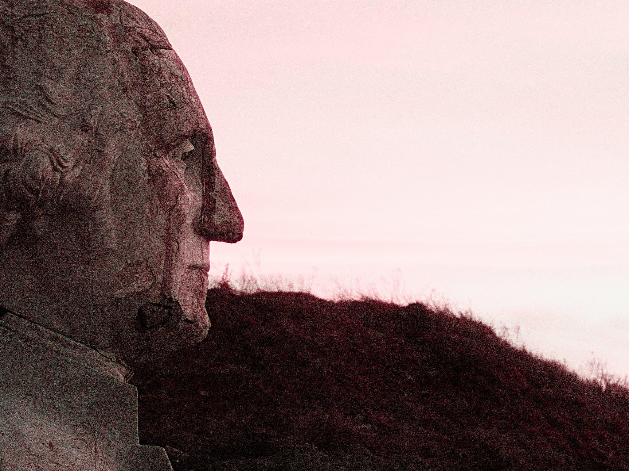 President's Park Abandoned Heads | Williamsburg, Virginia
