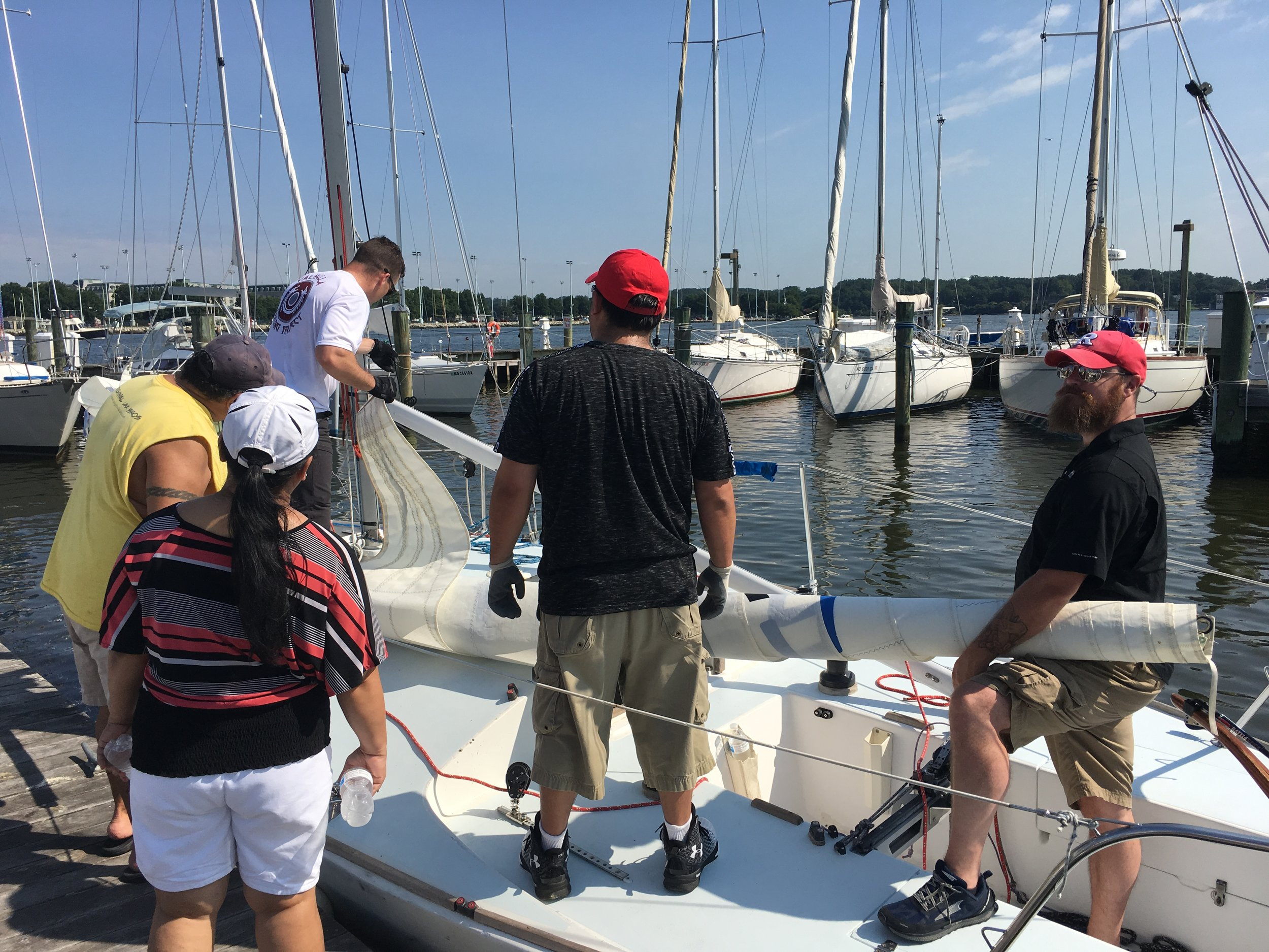 Volunteer with us - We're always looking for help with our clinics and events from shore support and coordination to sailing instruction.