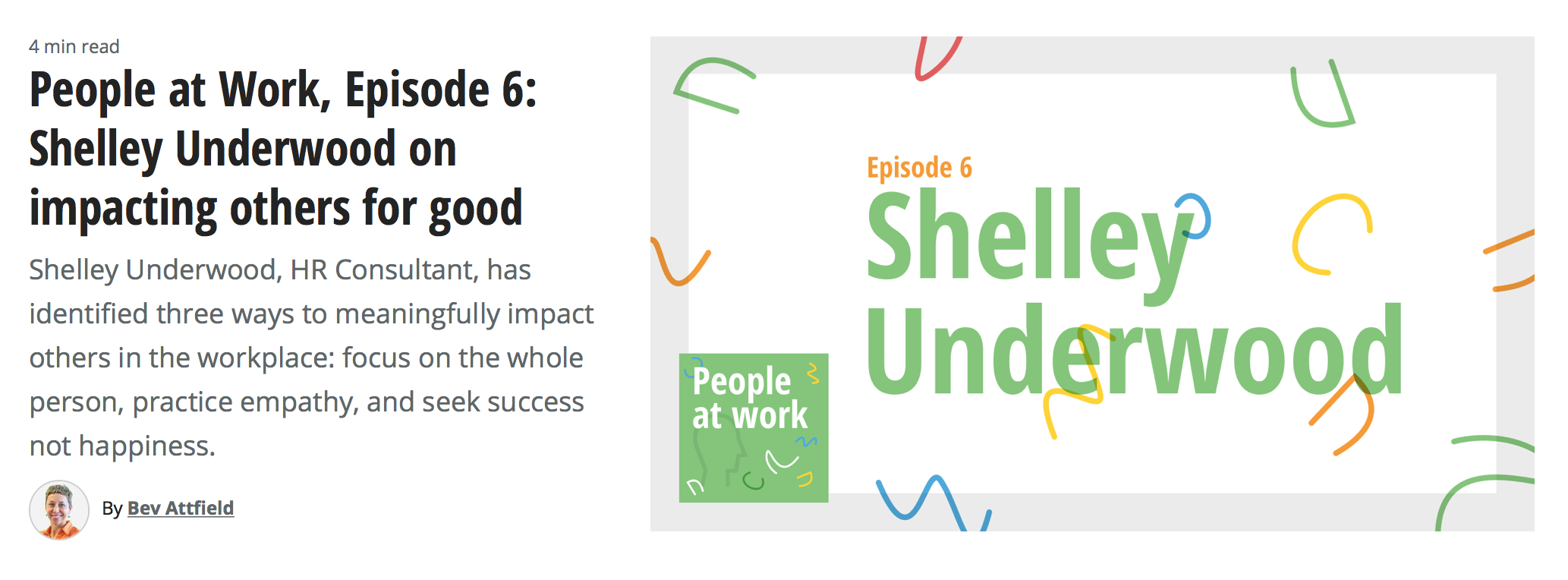 Podcast - People at Work