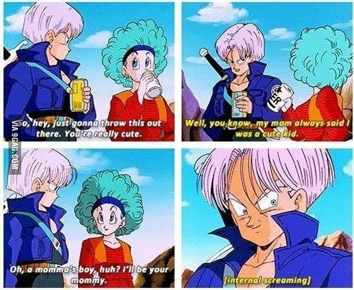 DBZ Abridged was always slightly more risque with its humour.