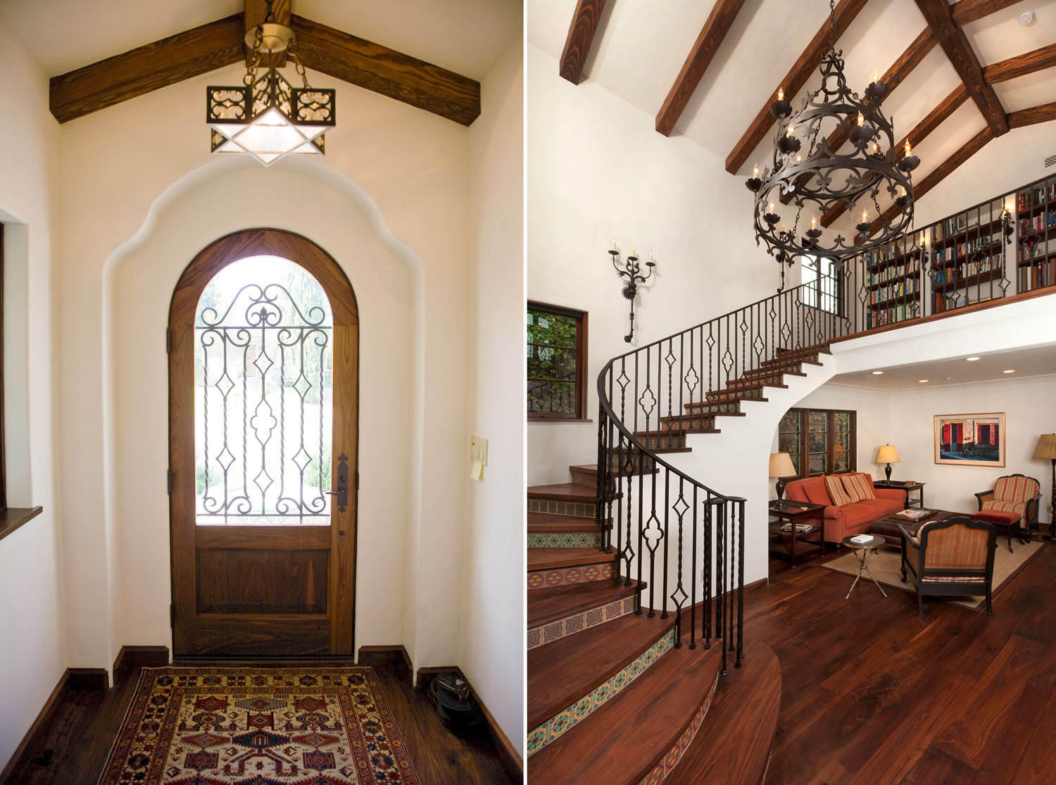 02-Spanish-Style-front-entry-tile-stair-risers-iron-railing-gary-drake-general-contractor.jpg