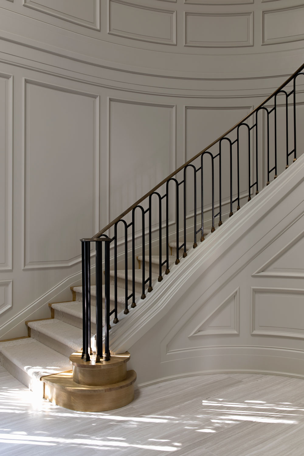 14-paneled-walls-staircase-modern-railing-gary-drake-general-contractor.jpg