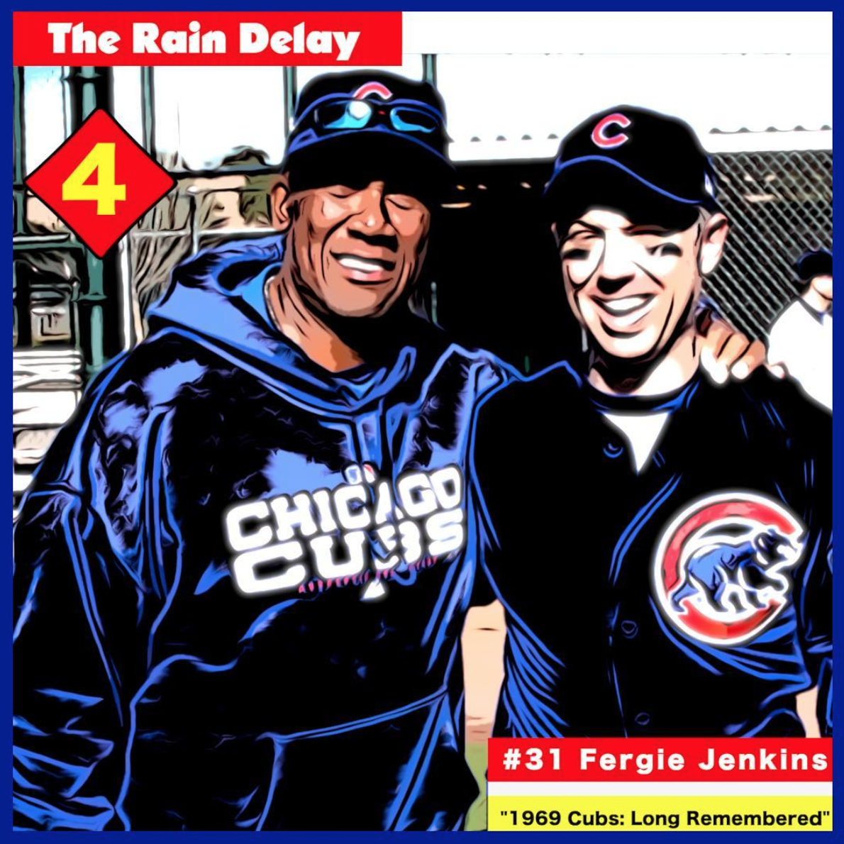 HALL OF FAMER FERGIE JENKINS