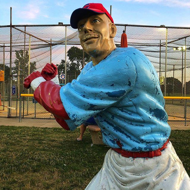 Classic Midwest Americana. #battingcages #gokarts #baseball
