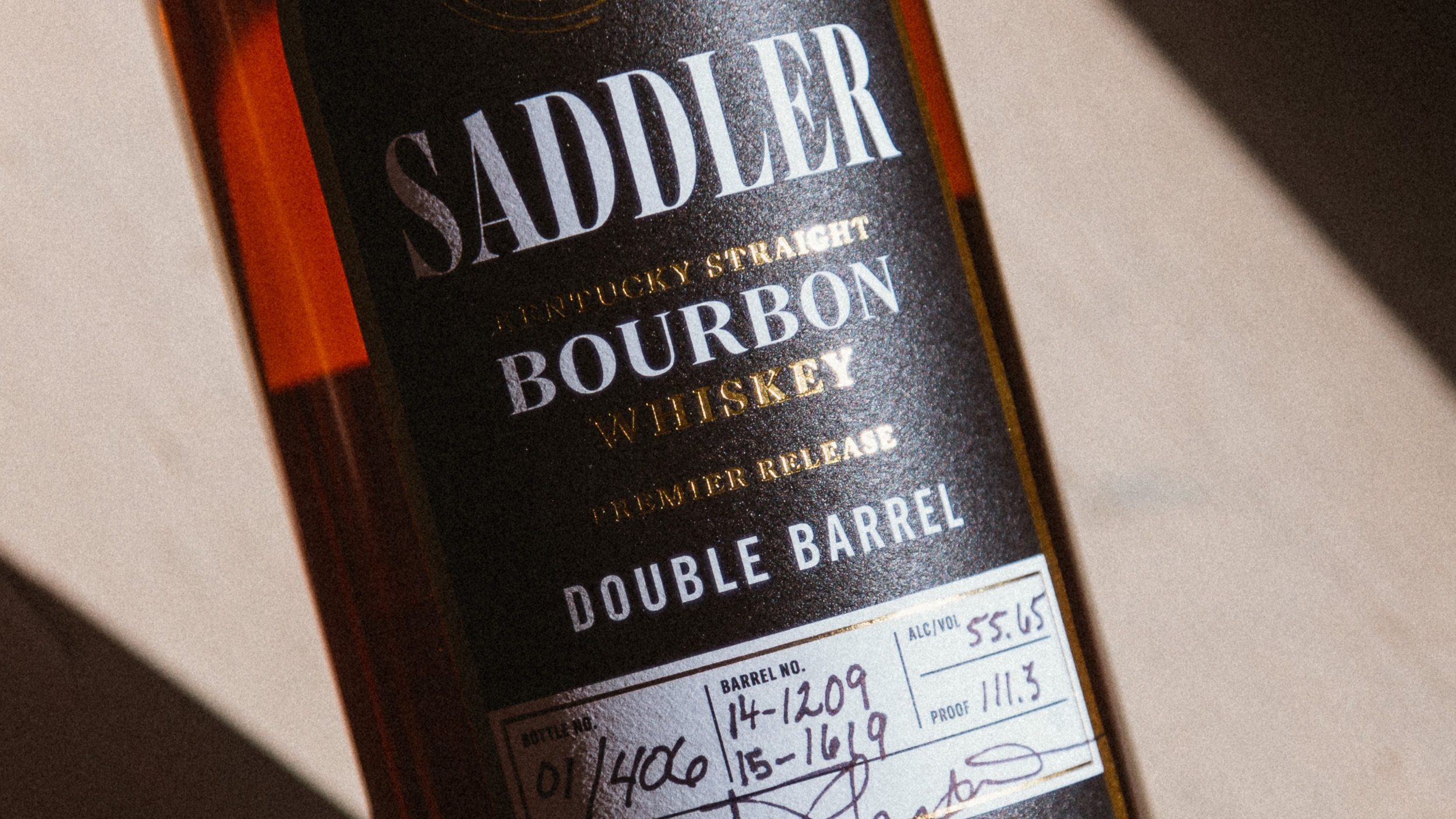 Saddler Distilling - Only One Barrelcan be the Best