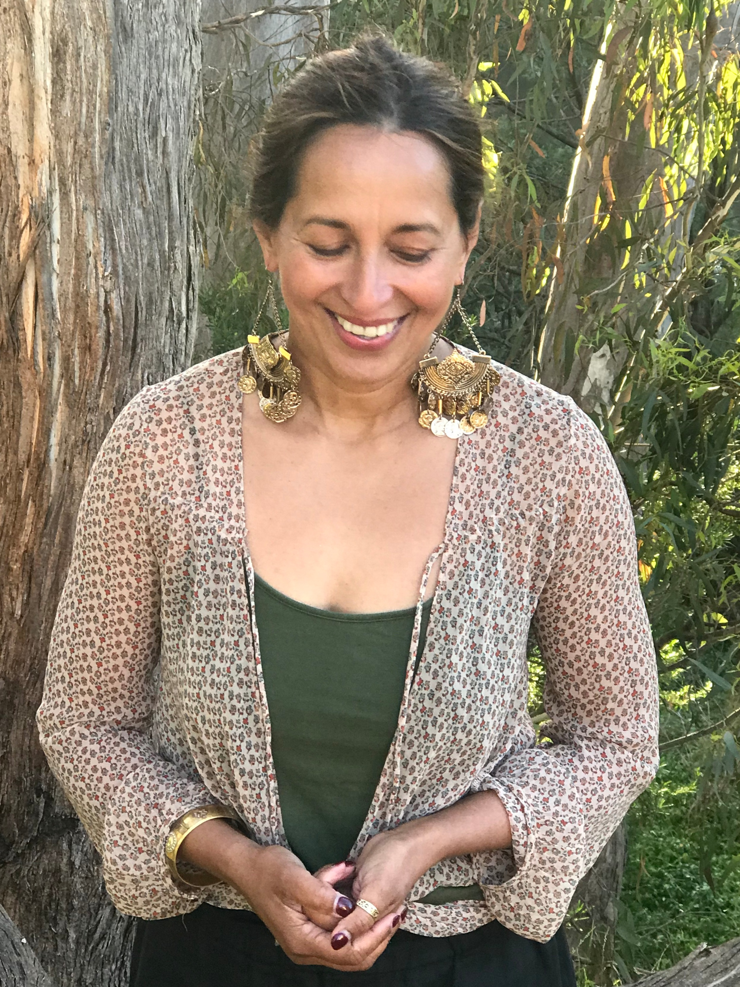 AVRIL BASTIANSZ - Teacher & Coach of Spiritual and Holistic Well-being. Born in Sri Lanka. Creator of Become Y O U, a program supporting women on their path of Self-discovery through Yoga, Meditation, Nutrition, Ayurveda and experiential journeys.