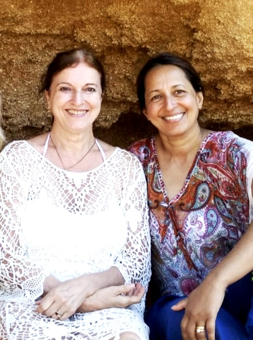 Devi Ananda and Avril Bastiansz, Rab, Croatia 2019.