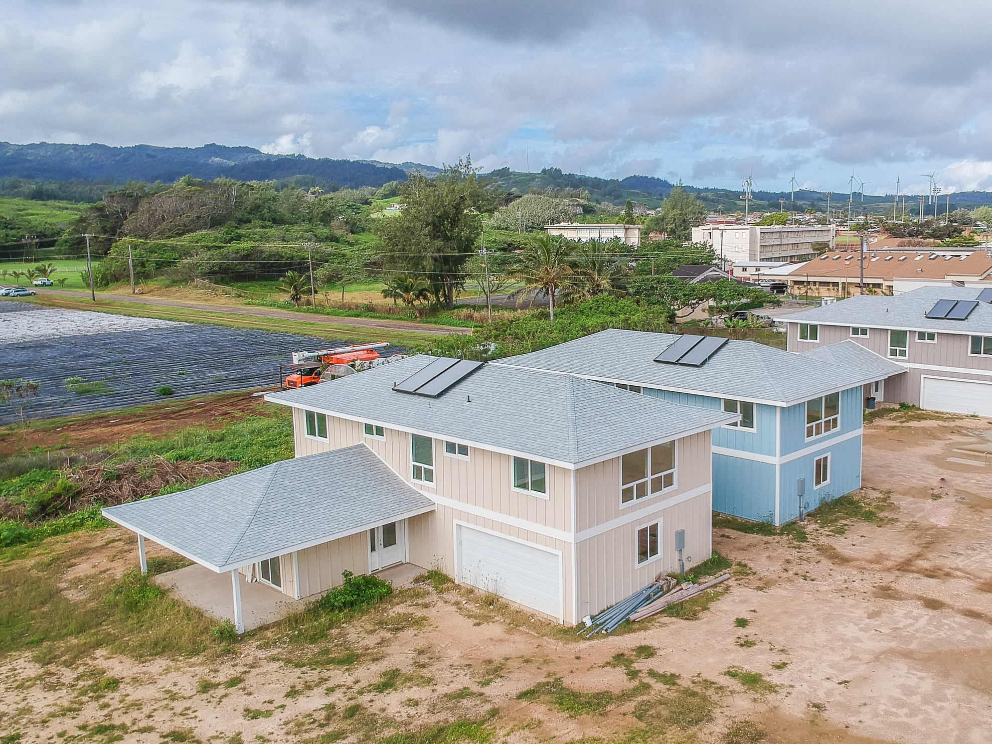 Kahuku Villas: North Shore of Oahu - A beautiful 16 unit development positioned perfectly serve the needs of North Shore families with an affordable price point.With 3 contemporary home designs, this community is set to launch and sell this year.