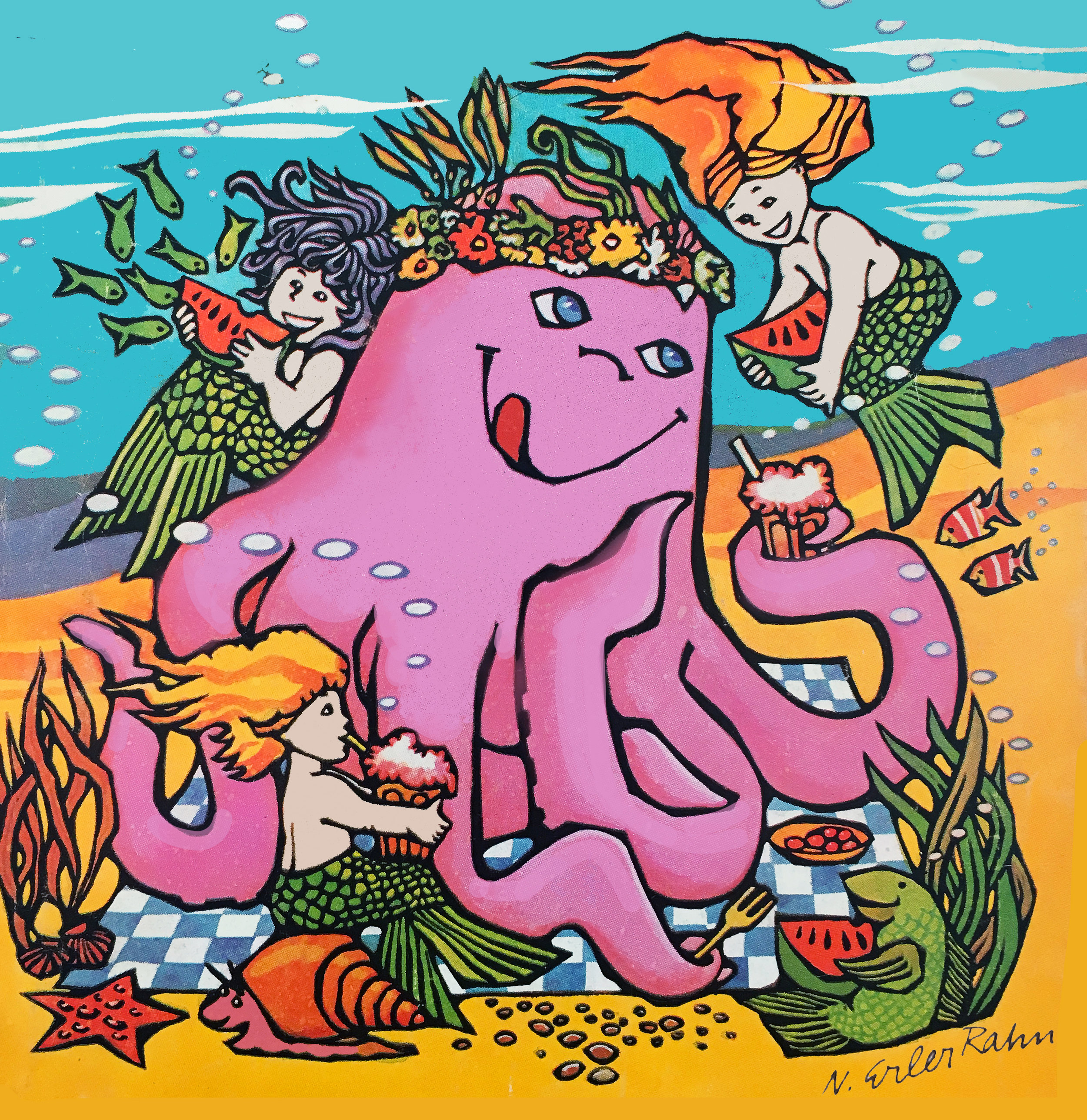 COVER ART - Octopus Picnic