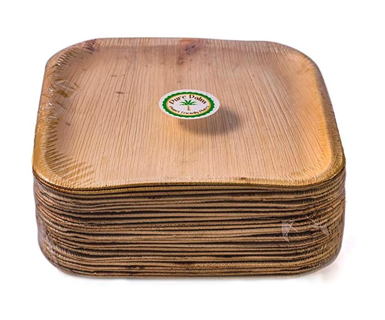 Natural Disposable Paper Plates