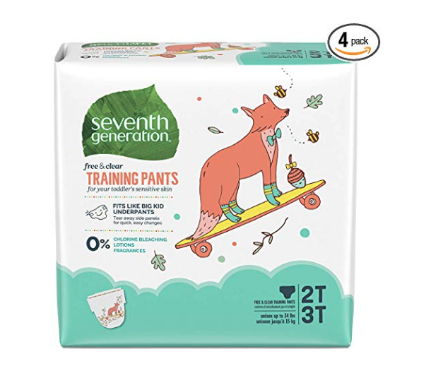 Seventh Generstion Pull-up Diapers