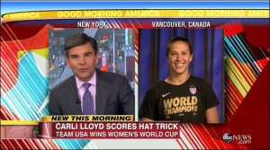 Carli Lloyd USA Women's World Cup