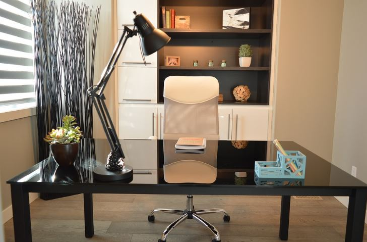 lighting in home office