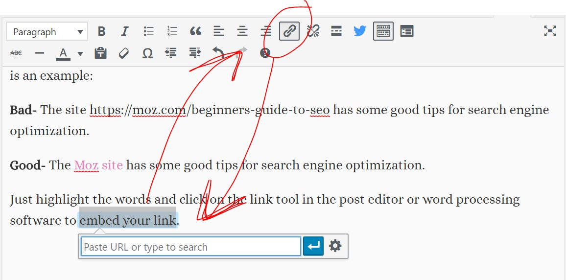 linking for seo