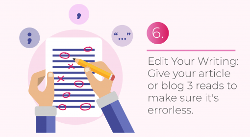 editing tips for articles