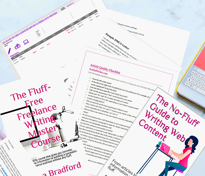 No-Fluff Freelance Writer Starter Pack Contents.jpg