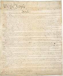 "The Constitution Requires Inequality - For the founders, only the rich were truly above corruption by ""partial considerations."" The same argument has been somewhat less eloquently stated in our own time by noted political theorist Donald Trump. (The Boston Globe)"