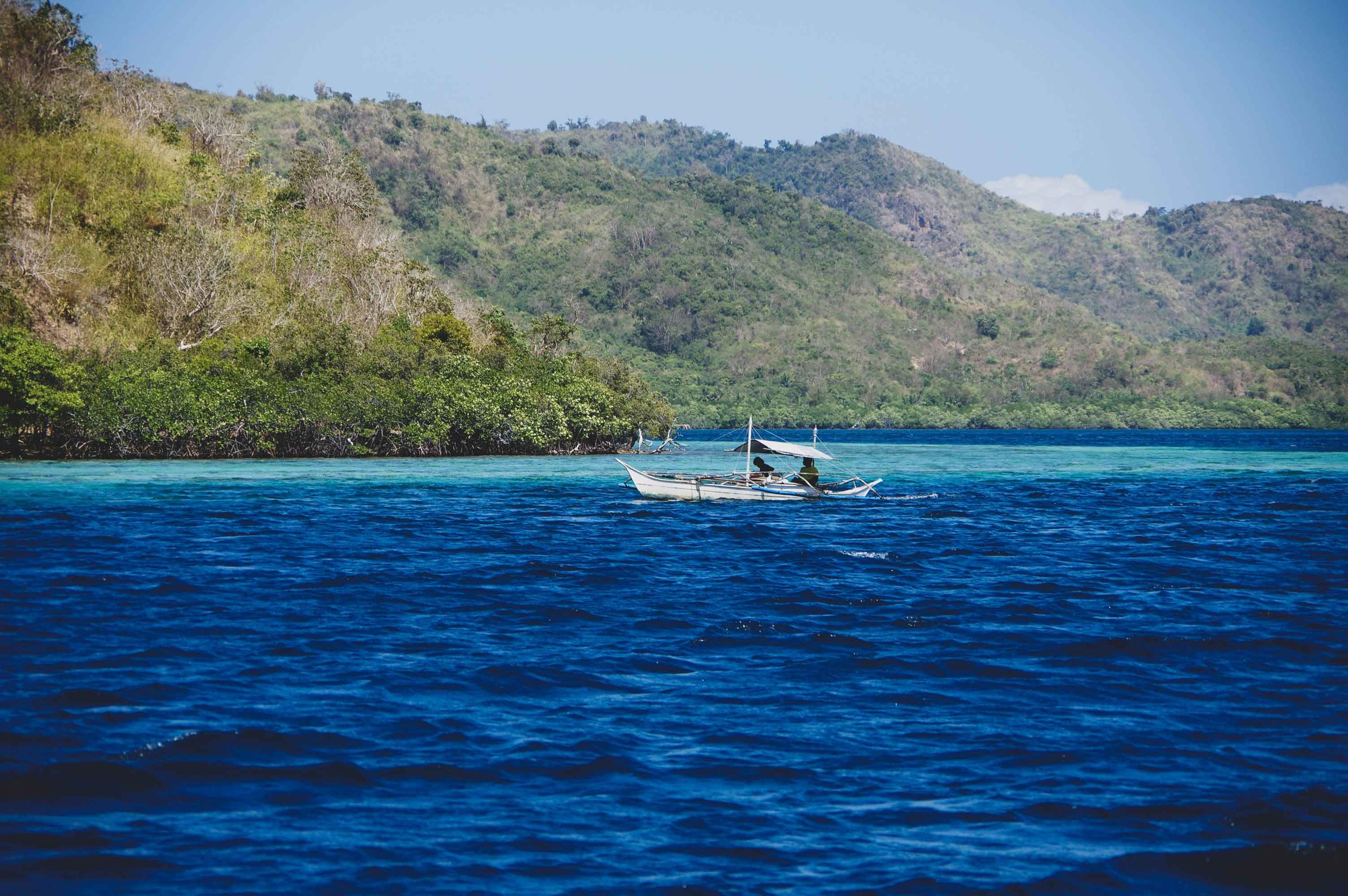 A small fishing boat used by the Tagbanuas of Coron.