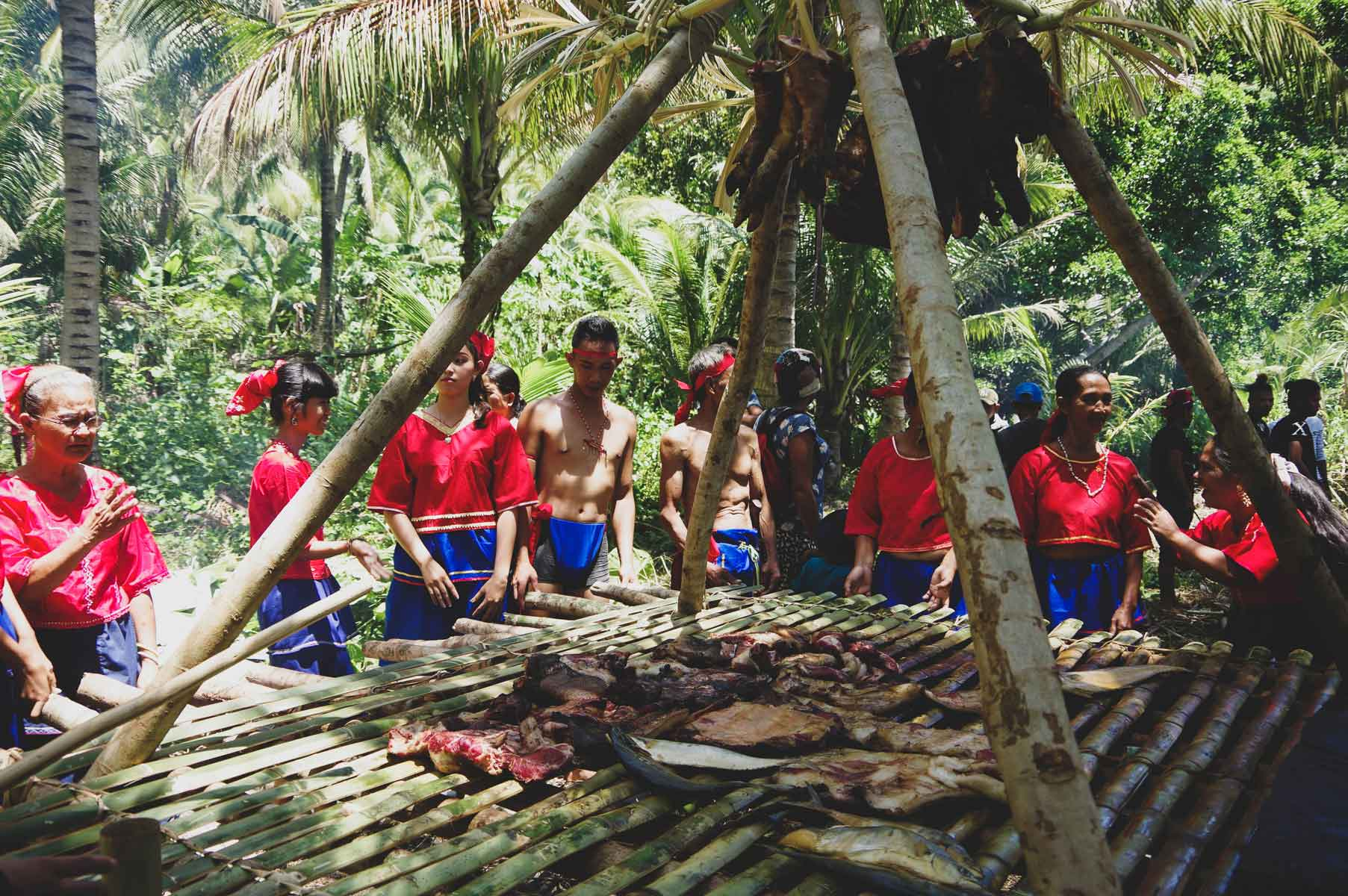 The Egongot tribe held a ritual in celebration of the declaration of the ICCA in Dipaculao, Aurora.