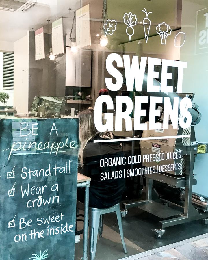 Sweet Greens Press Melbourne Eats Gut Friendly