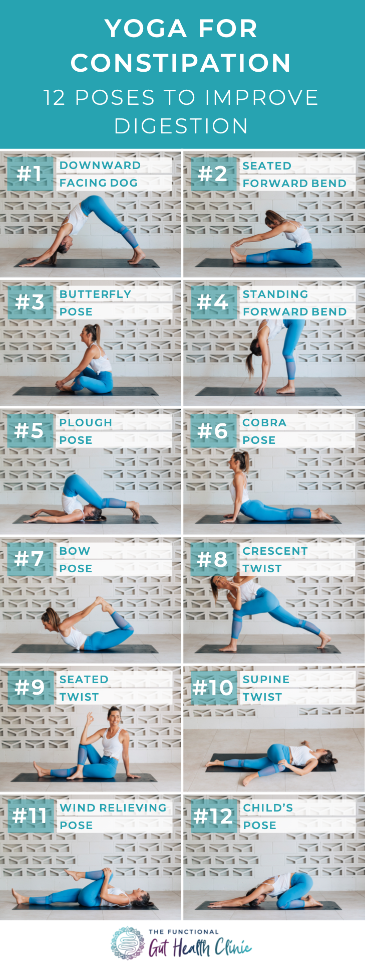Yoga for Constipation - 35 Poses to Improve Digestion