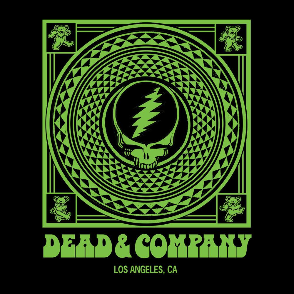 Dead & Company Pop-Up Merch — Ryan Thomas Ormsby