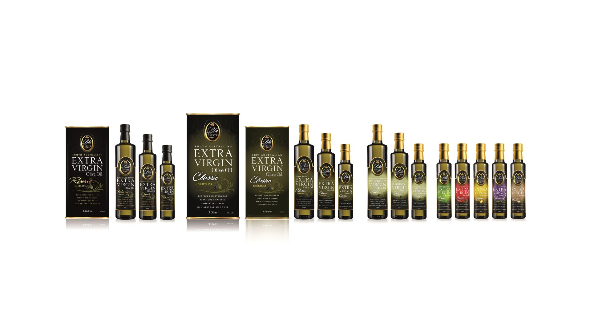 Our online exclusive gift packs - You may browse our broad range of oils from the comfort of your own home, have a read through the product descriptions to understand the tastes of each product.