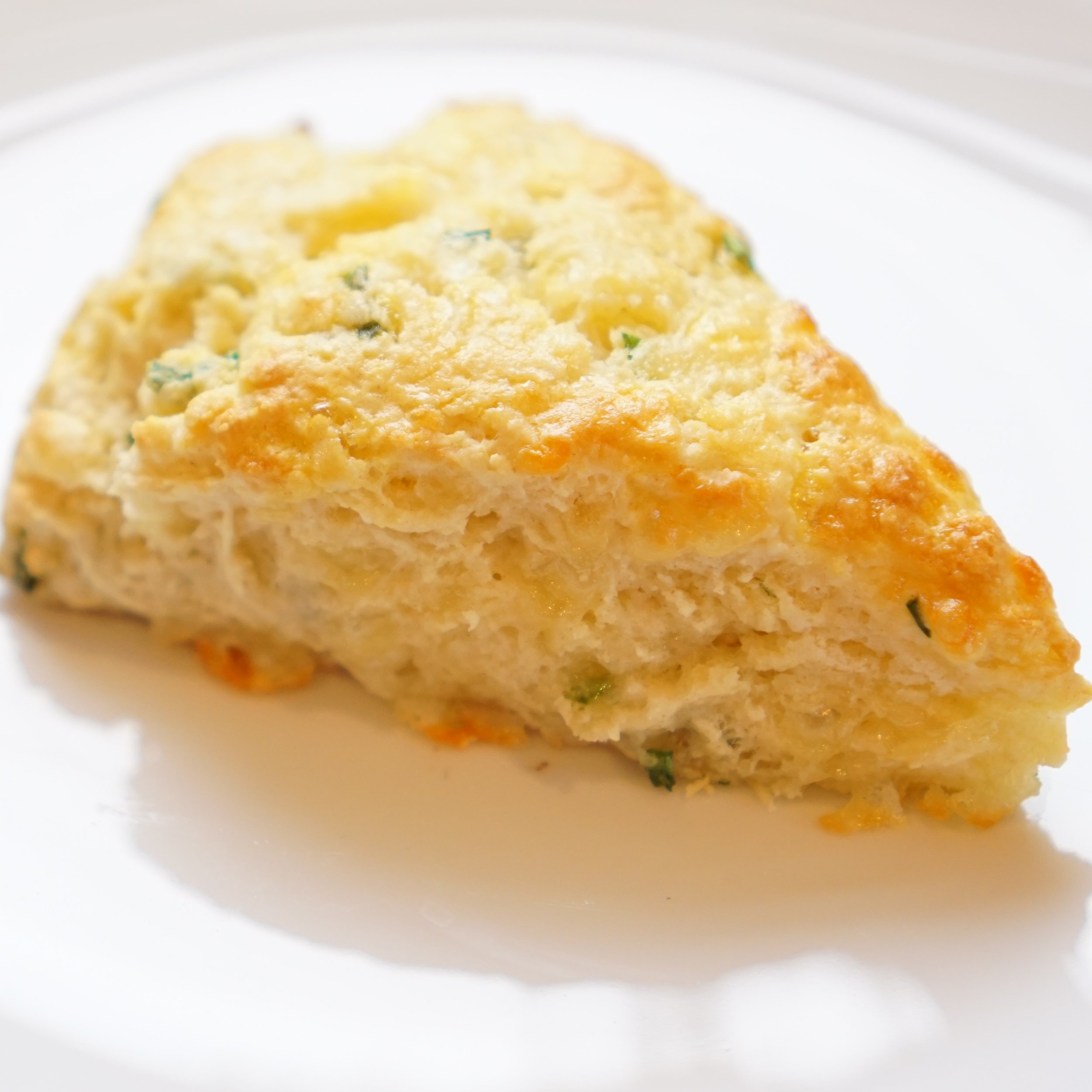 Cheddar and Chive Scone