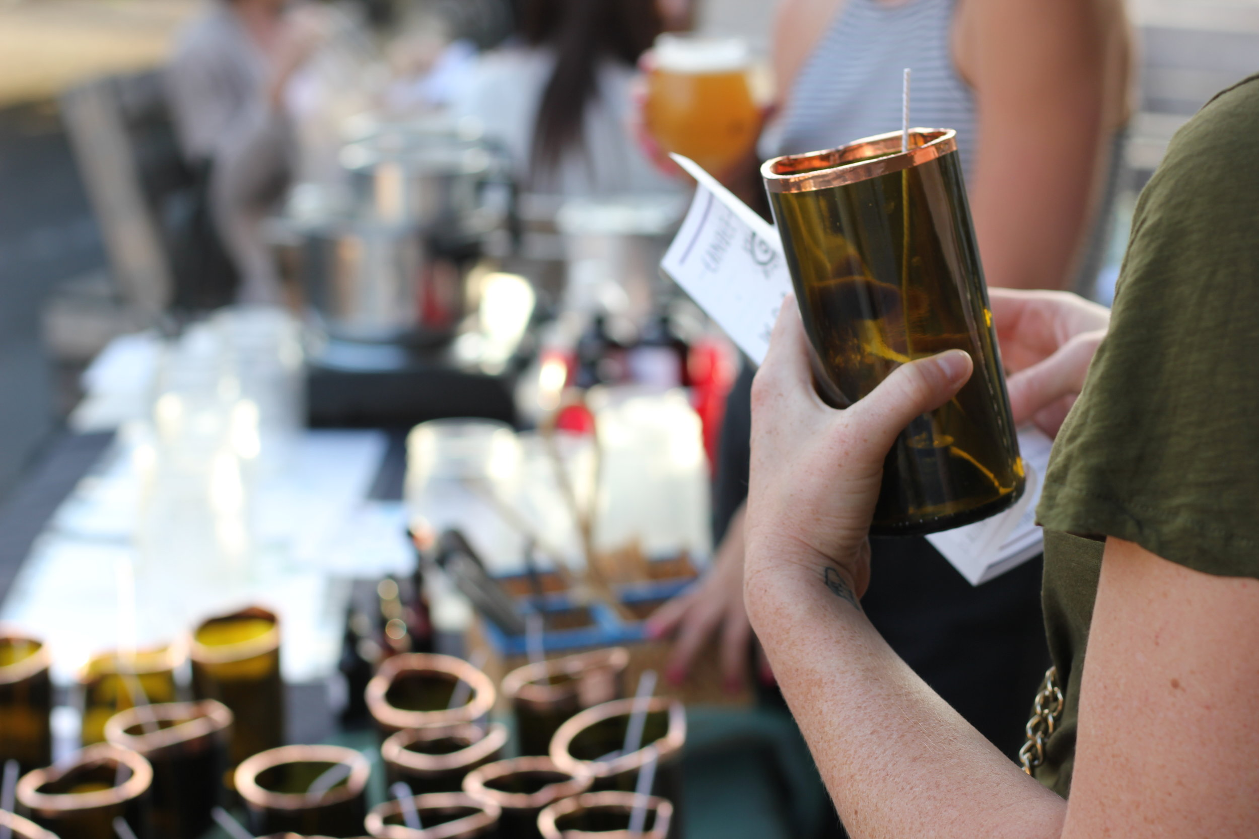 Join us at a Workshop! - Explore scent, color, symbols and intent to curate your very own candle.