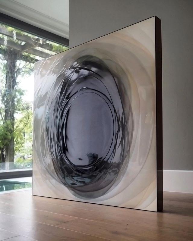 BLACK hole 🖤 #resinart #natbowen