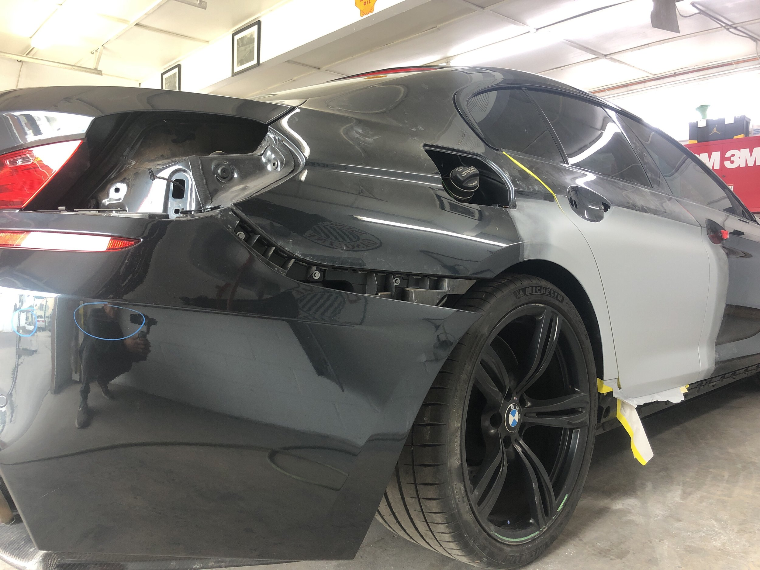 Paint prep BMW.JPG
