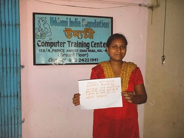 """A while ago, we asked Uddami students what they thought of Uddami.. 💭 Here is one response: """"Uddami Computer Centre teaching process and disciplines are very good, and it is free of cost to all needy people"""" ✨ Uddami Training is provided to those who might otherwise struggle to find financially stable jobs in the formal economy! Find out more on our website, and donate to help our students unlock their full potential. 💯🔓🙏🏽"""