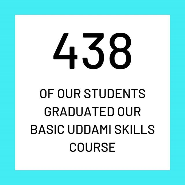 Uddami Statistics 💯💭💹 Of the 762 students that took the basic Uddami training course, 438 graduated after completing! There are myriad reasons why students can't complete the course however we are exceptionally proud of all of our students - even those who don't make it quite to graduation. 🎓✨🙌🏽 . . .  #uddamitraining #skillbuilding #resources #uddami #lifeskills #kolkata #employability #learning #kolkatagram #learn #teaching #uddamiimpact #uddamistories #dreambig #workhard #fulfillingdreams #girlswhocode #literacy