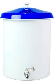 Ecofiltro Blanco con Tapadera Azul  20 Lt