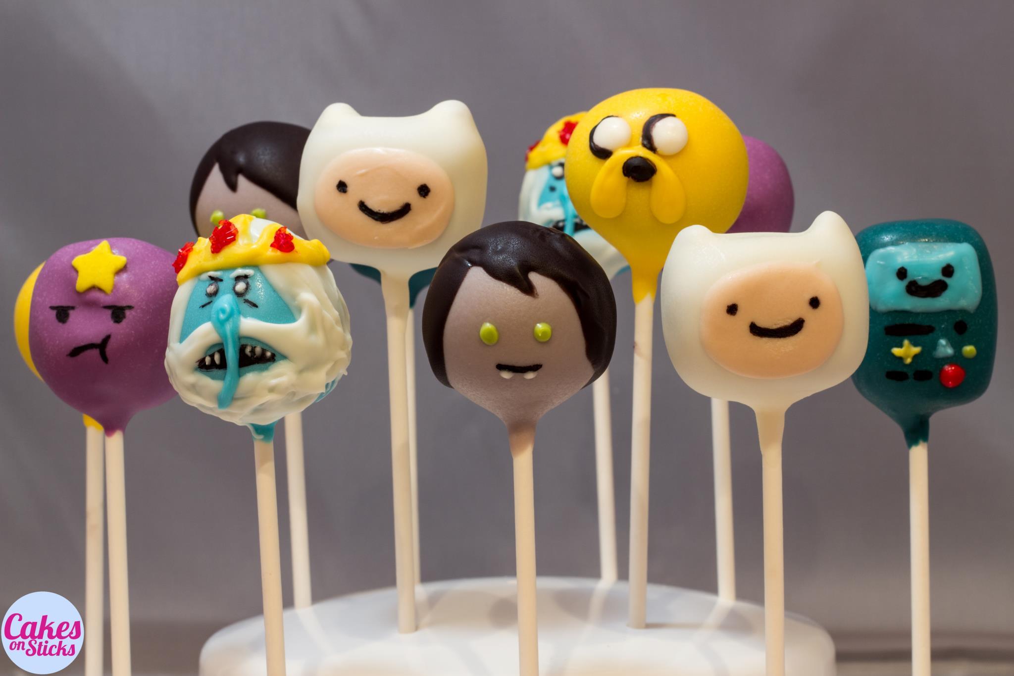 Adventure Cartoon Cake Pops