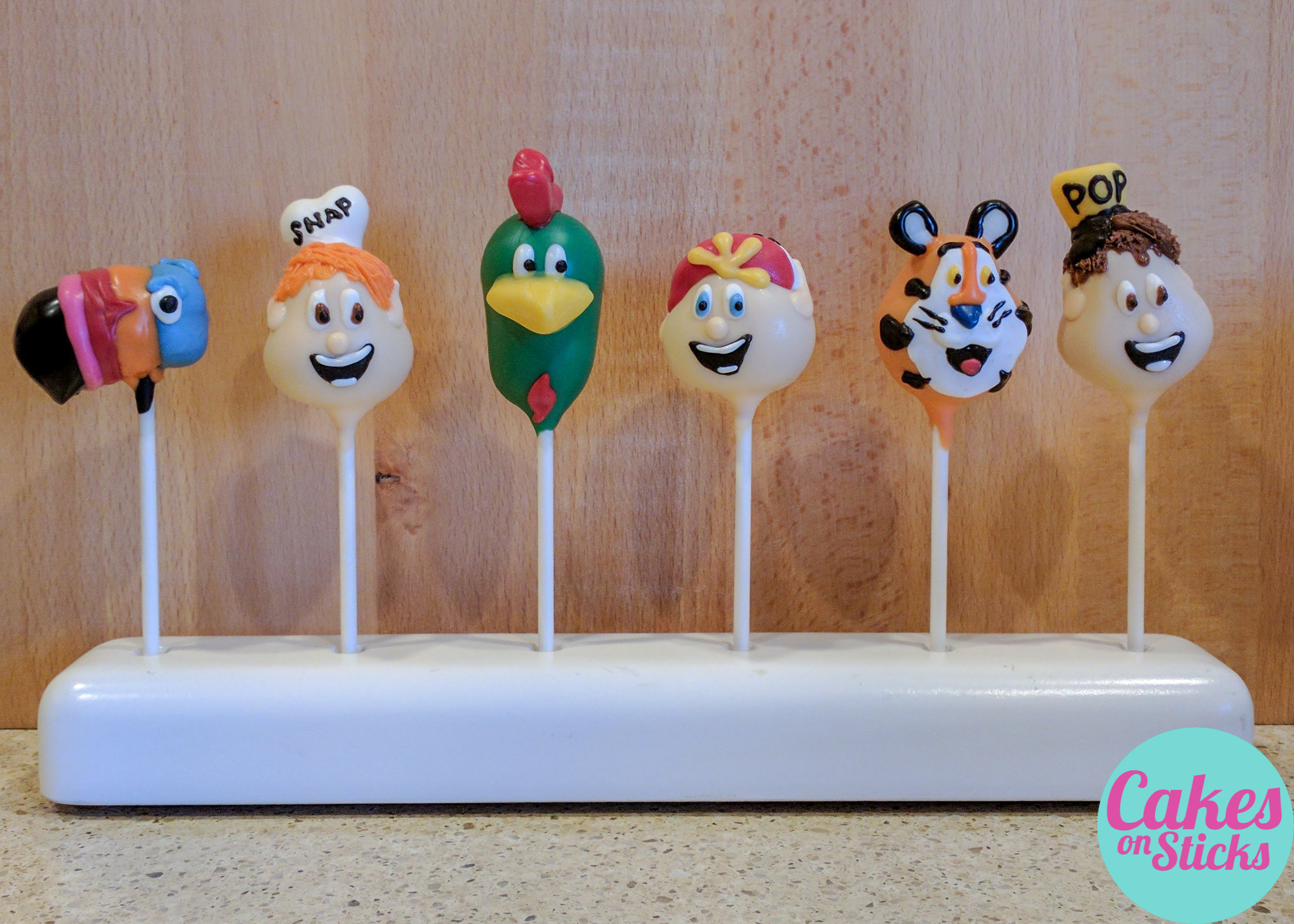 Cereal Themed Cake Pops