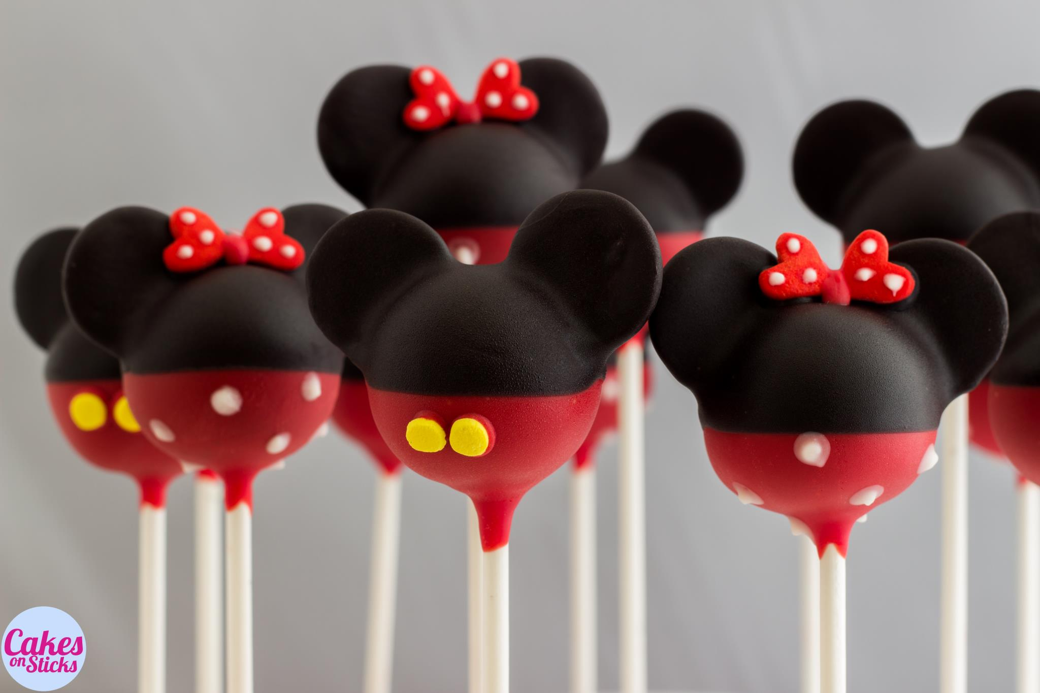 Mouse Cake Pops