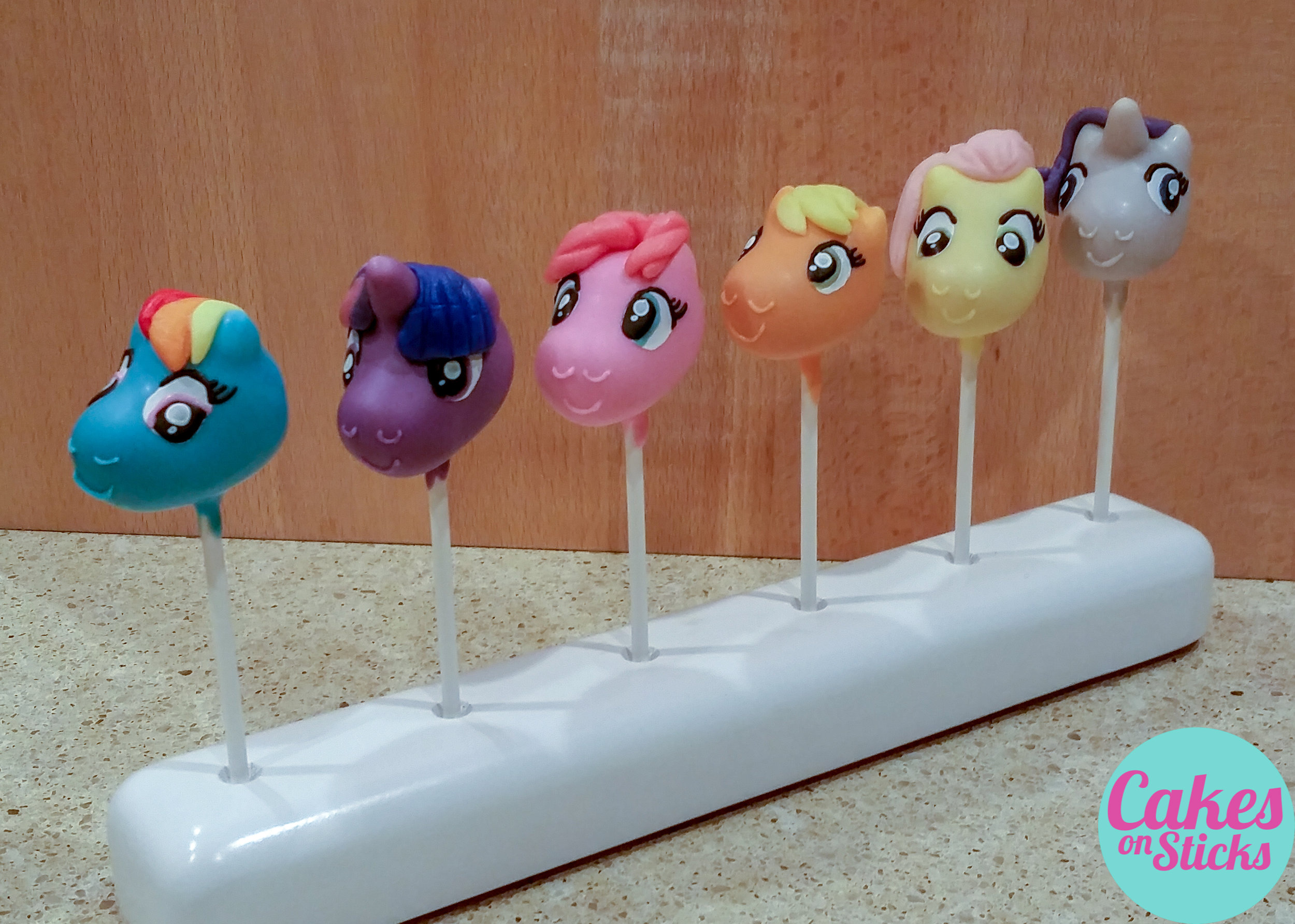 Baby Horse Cartoon Cake Pops