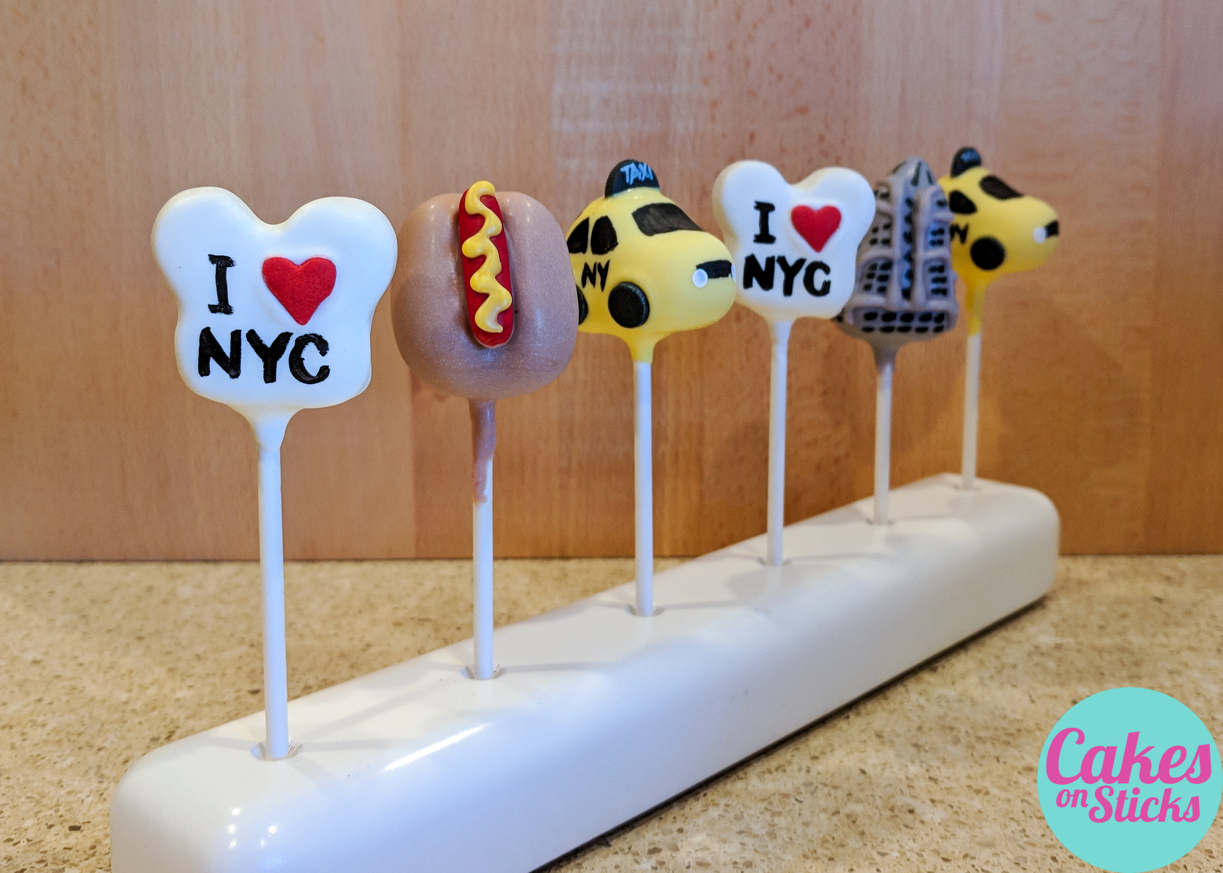 NYC Cake Pops