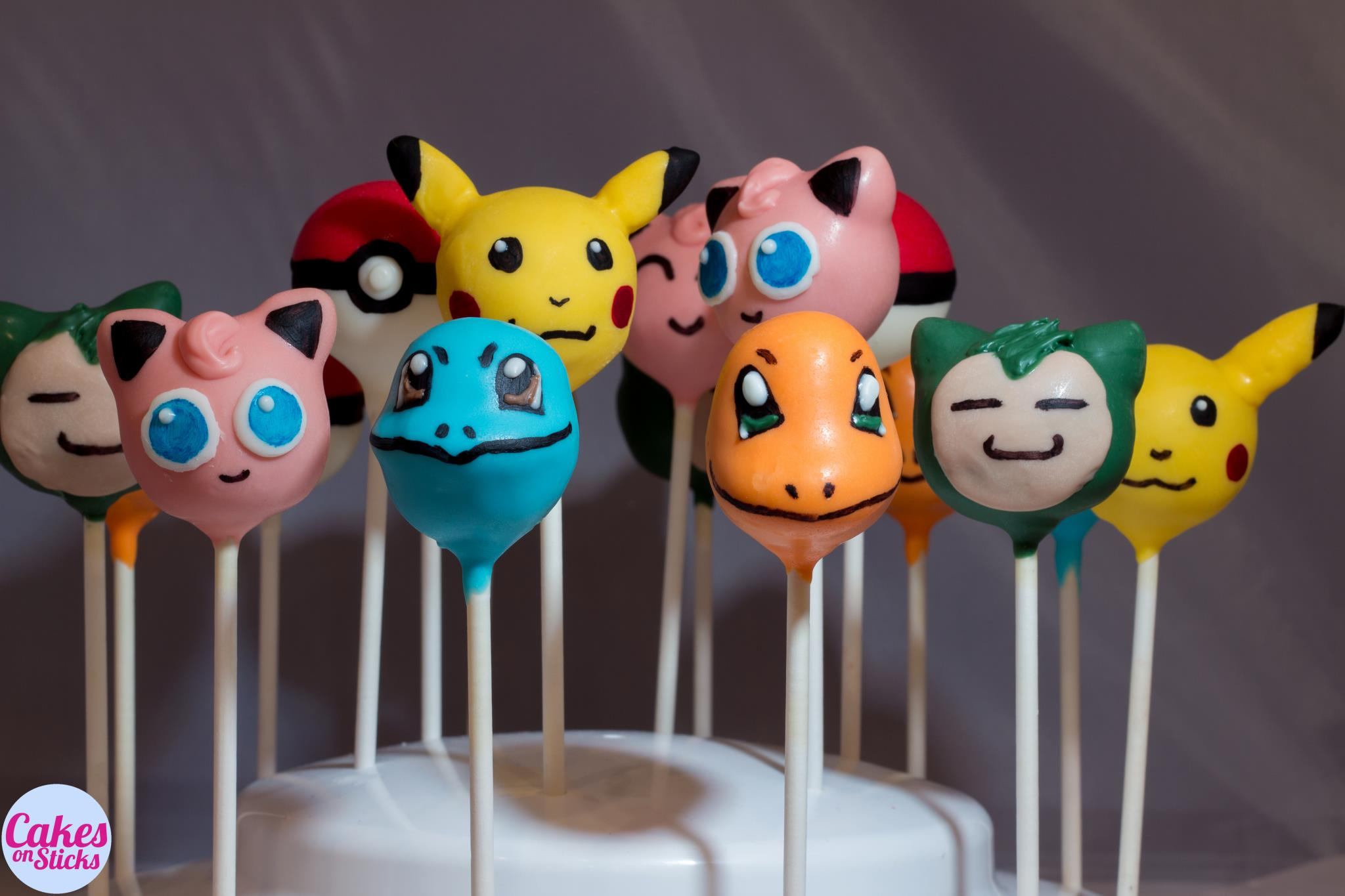Anime Cartoon Cake Pops