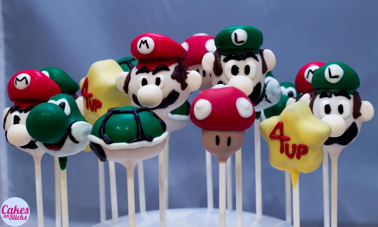 Super Brothers Cake Pops