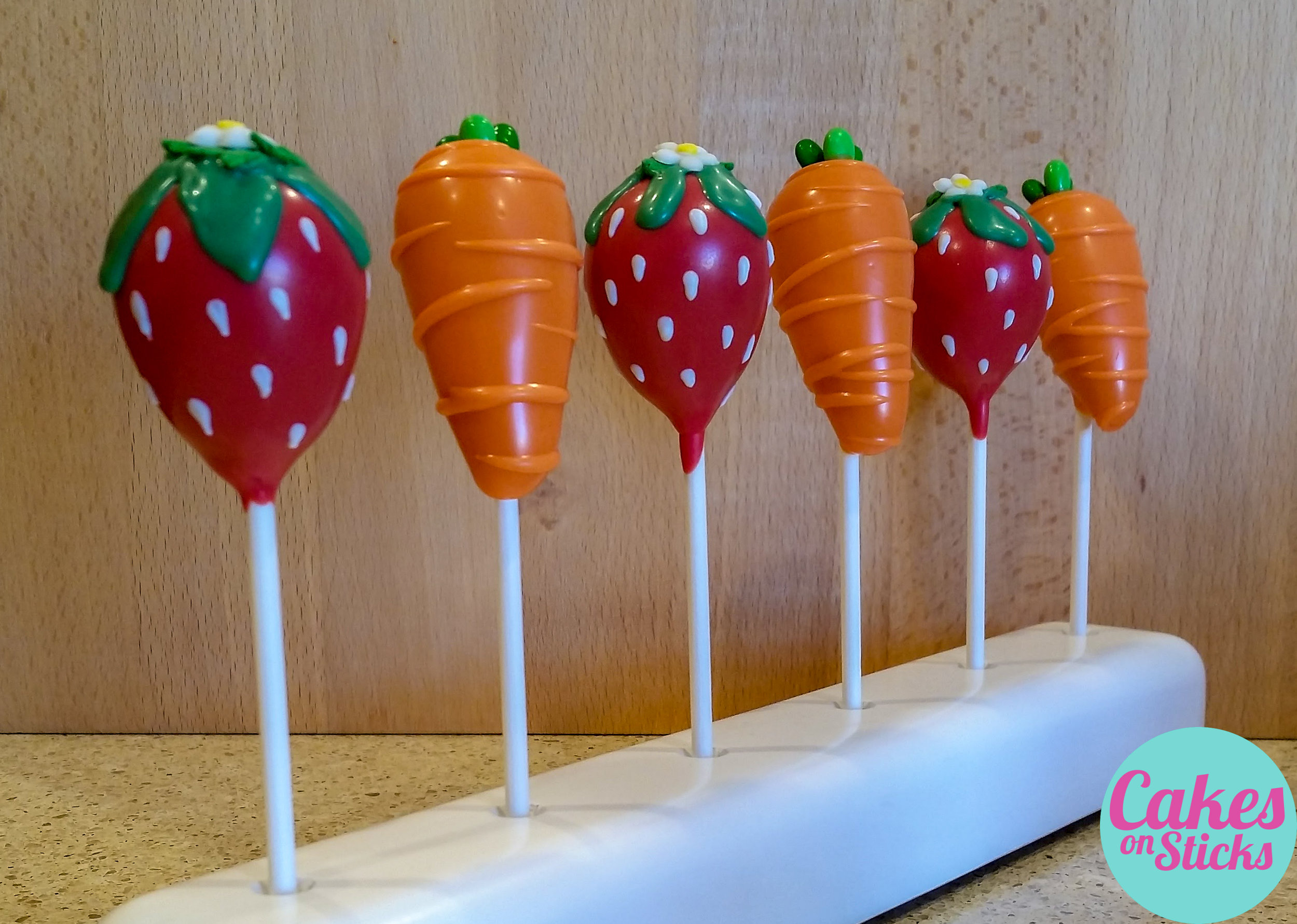 Fruit and Vegetable Cake Pops