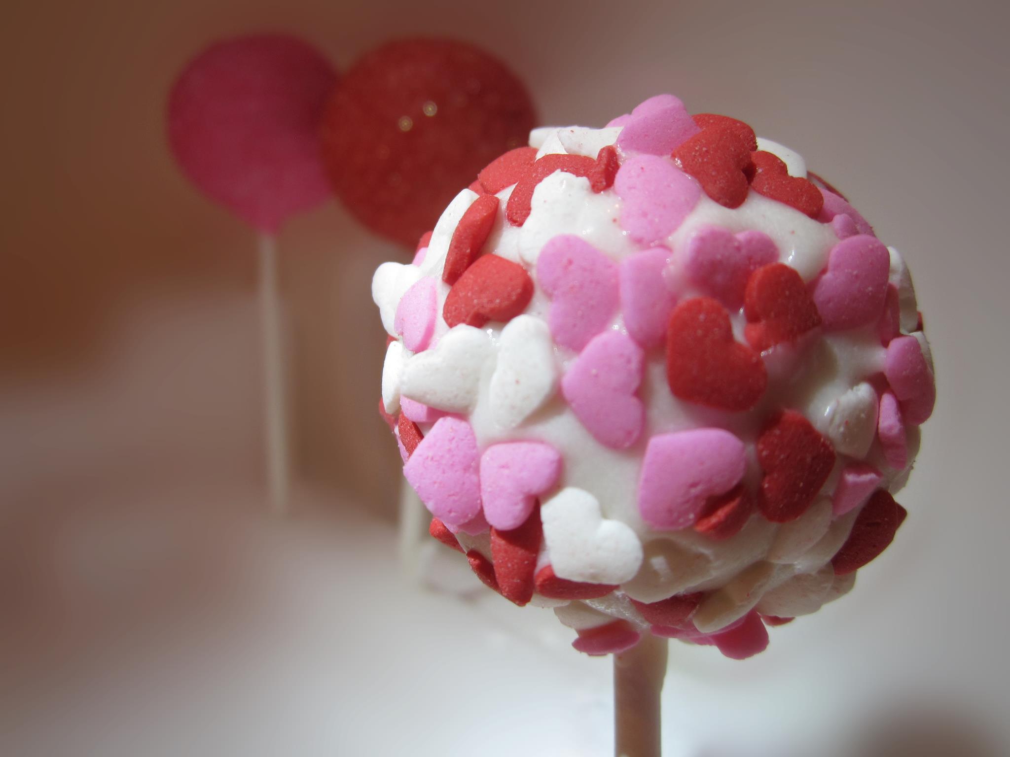 Hearts Cake Pops