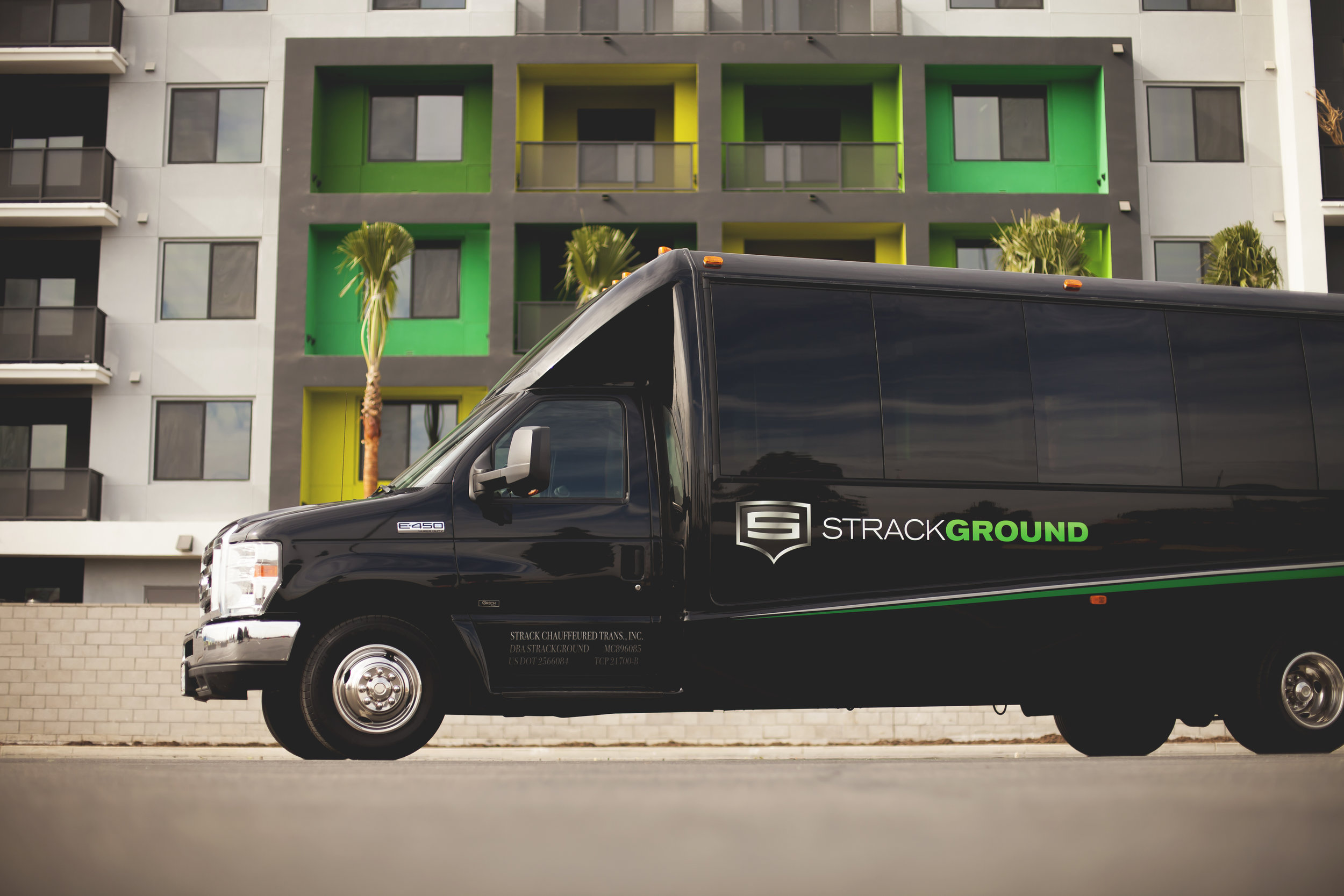 MINI COACH 23 - Complimentary water. WiFi and Apple TV available upon request. 110V/USB charging at each seat. Faux wood floors. Reclining captains chairs. Seating up to 23 passengers. Dedicated luggage area accommodating up to 18 pieces of luggage.
