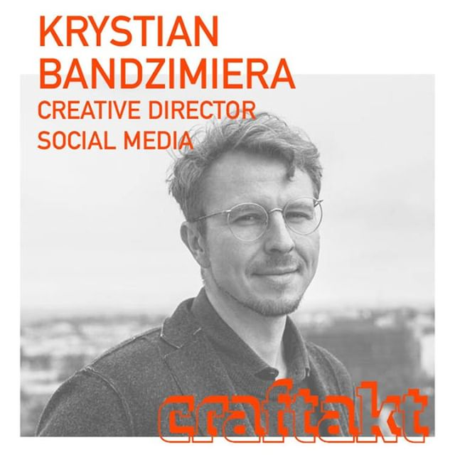 Book your free ticket now @ www.craftakt.de and meet Krystian (@krystianartur) @craftakt conference @tatcraft. ⠀ Krystian is the man when it comes to honest brand building and community based social media campaigns that evolves from your company's inherent strengths. What he did for big ass brands, he might also do for you! ⠀ ⠀ .⠀ ⠀ #craftakt #tatcraft #maker #frankfurt #ffm #conference #events #design #event #business #inspiration #entrepreneur #venue #tech #startup #maker #makersgonnamake #makersmovement #creative #success #motivation #entrepreneurship #hustle #entrepreneurlife #lifestyle #work #businessman #mindset #successful #startuplife⠀ ⠀